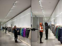 Duvetica shop by Tadao Ando Architect & Associates, Milan store design