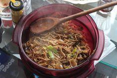 Rakabulle de nouilles et légumes au wok http://allez-viens.fr