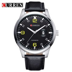 CURREN Rose Gold Fashion Watches Men Luxury Brand Men's Quartz Hour Date Clock Sports Watch Man Army Military Wrist Watch