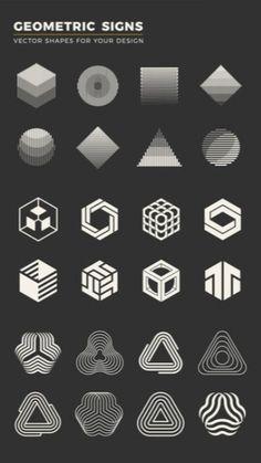 Love Design, Logo Design Inspiration, Icon Design, Brush Pen Art, Alchemy Symbols, Print Layout, Design Language, Vector Shapes, Graphic Design Projects