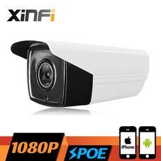 XINFI HD 2.0MP CCTV POE camera night vision Outdoor Waterproof network CCTV 1080P IP camera P2P ONVIF 2.0 PC&Phone remote view #Affiliate