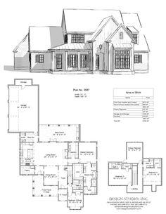 Cottage Floor Plans, House Floor Plans, Custom Floor Plans, European House Plans, New House Plans, Modern Farmhouse Plans, Farmhouse Design, Custom Home Designs, Custom Homes