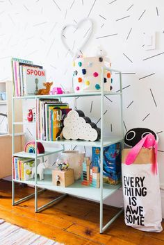 See inside a small, 90 square foot bedroom that was recently redesigned to be shared by two children. Find out how one mom made a 90 square foot bedroom perfect for her little girls to share.