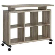 Lincoln Multipurpose Standing Desk - Sonoma Oak (Brown) - Altra