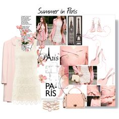 Summer in Paris by shape-shifter on Polyvore