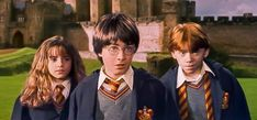 Harry Potter and the Sorcerer's Stone - Harry Ron and Hermione ask Hagrid about Fluffy.