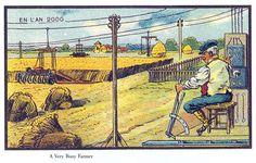 Lan 2000 vu par des artistes français de 1899  2Tout2Rien
