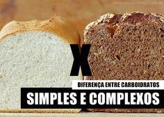 Diferença entre Carboidratos Simples e Complexos