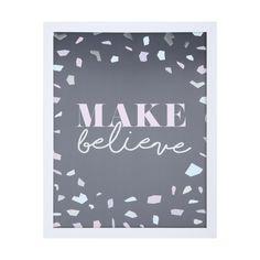 Make Believe Framed Print | Kmart