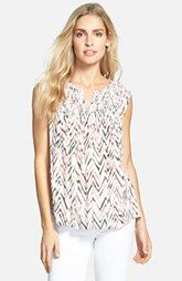 c112153b173 Ella Moss  Edie  Sleeveless Split Neck Top Ella Moss