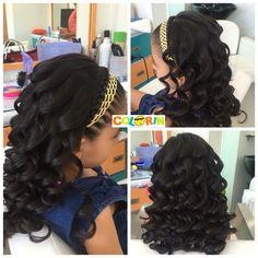 Trenzas en cinta para las nenas y crespos bellos solo en nuestras peluquerías Colorin de Cúcuta