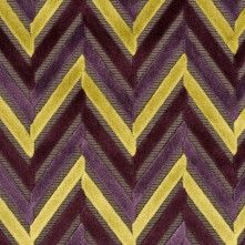 Purple Geometric Velvet