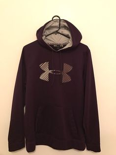Under Armour Purple Women's Pullover Hoodie Size Medium Loose Fit  | eBay