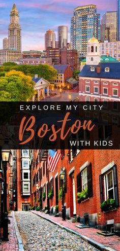 Boston is an easy and exciting city to explore with your kids. A local's guide to all the best things to see and do in the city, where you should stay, dine and day trip ideas around New England. Toddler Travel, Travel With Kids, Family Travel, Boston With Kids, In Boston, Road Trip With Kids, Family Road Trips, Family Vacation Destinations, Travel Destinations