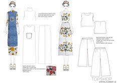Fashion Illustration Sketches, Fashion Sketchbook, Fashion Design Sketches, Sketch Fashion, Illustrations, Flat Drawings, Flat Sketches, Fashion Portfolio Layout, Portfolio Design