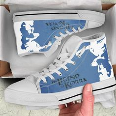 Legend of Korra Shoes High Top Limited Edition - – iRockStores Mens High Top Shoes, Mens High Tops, High Top Sneakers, Legend Of Korra, Snug Fit, Converse Chuck Taylor, Footwear, Fashion Design, Collection