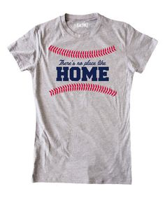 Look what I found on #zulily! Athletic Heather 'There's No Place Like Home' Tee - Girls #zulilyfinds