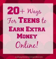 Are you a teen or the parent of a teen who needs to make money online? This post has tons of options for teens to get started earning extra money today -- all legitimate and trusted sites! // Hоw to find your waу throughout internet marketing ? South Beach Miami, Make Money From Home, Way To Make Money, Money Fast, How To Earn Money For Teens, Money Tips, Money Saving Tips, Teenager Jobs, Teen Jobs