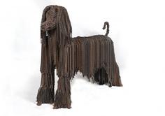 Hond aan de ketting