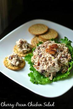 Cherry-Pecan Chicken Salad   Aunt Bee's Recipes