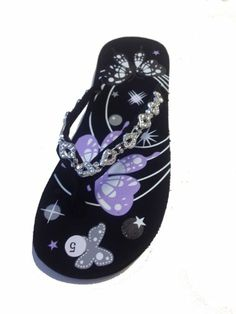 Women's Butterfly and Stars with Beaded Thongs Flip Flops Sandals by L.A. Beauty - 5313 L.A. Beauty,http://www.amazon.com/dp/B00DRQXH4U/ref=cm_sw_r_pi_dp_DOZ8rb041JQ5SKCC