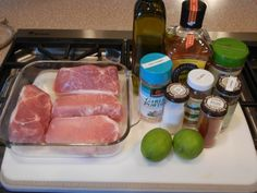Margarita Pork Chops (#paleo)