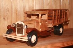 Plans For Wood Toys woodworking Wooden Toy Trucks, Wooden Car, Wooden Toys, Toy Box Plans, Wood Toys Plans, Model Auto, Plan Toys, Woodworking Toys, Woodworking Patterns