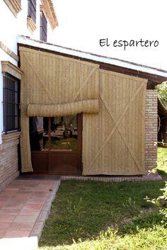 home decor decoration Outdoor Patio Rooms, Outdoor Cabana, Casa Patio, Outdoor Blinds, Outdoor Living, Outdoor Decor, Bamboo Roof, Small Courtyard Gardens, Patio Shade