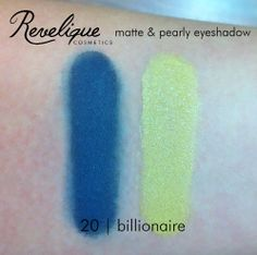 Revelique matte & pearly eye shadow 20 billionaire #eyeshadow #matte #pearly #revelique #billionaire