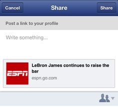 """Facebook Officially Launches """"Share"""" Button For The Mobile Feed, Its Version Of """"Retweet"""""""
