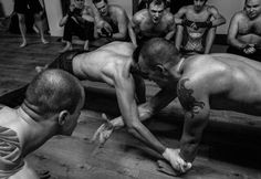 MOSCOW'S REAL-LIFE FIGHT CLUB LOOKS INSANE: arm tattoos (Vice.com)