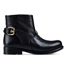 Boutique Moschino Ankle Boots ($505) ❤ liked on Polyvore featuring shoes, boots, ankle booties, black, black bootie, round toe booties, bootie boots, black shootie and black booties