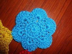 شغل ابره NEEDLE CRAFTS: وحده كروشيه بسيطه و سهله - simple crochet unit