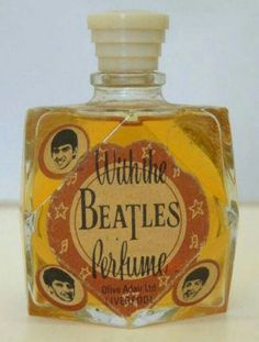 With The Beatles Perfume by Olive Adair Ltd., Liverpool