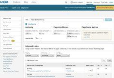 """5e- Moz : un blog de qualité, et des outils, dont """"OSE"""" pour analyser les liens : Les outils d'analyse de liens préférés des SEO indépendants en France - JDN tres bon pour le ref http://www.serrurier-paris-artisan.fr/serrurier-paris-20/"""
