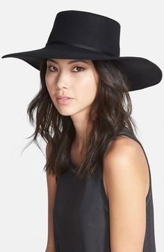 Brixton 'Buckley' Floppy Wool Hat available at #Nordstrom