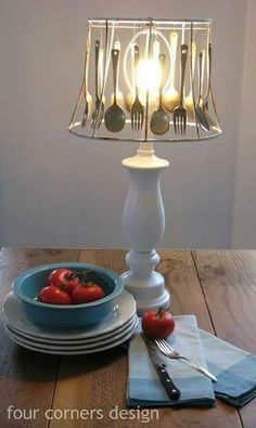 Cutlery lampshade
