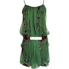 Hippy Garden » Hippy garden dress » Zelena (Glamour) - Polyvore
