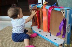 Baby Sensory Play, Baby Play, Baby Activity Board, Baby Dyi, Baby Olivia, Baby Mine, Infant Activities, Baby Hacks, Kids Decor