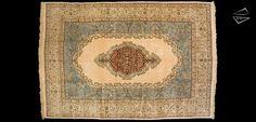 Persian Tabriz Signed Carpet 8′ 8″ X 13′ 0″