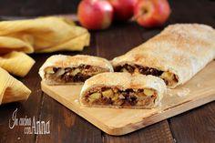 Strudel di mele veloce,buono,profumato e goloso come il tradizionale,ma pronto in soli 35 minuti inclusa la cottura!