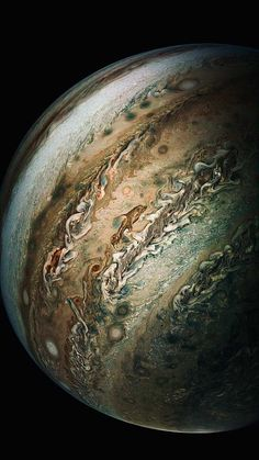 """cosmicdustpw: """" """"So long, and thanks for all the fish!"""" (A Dolphin spotted on Jupiter by NASA's Juno spacecraft during a flyby conducted on by """"★☆★ SPACE ★☆★"""" """" Galaxia Wallpaper, Jupiter Wallpaper, Cosmos, Nasa Juno, Iphone Wallpaper 4k, Phone Wallpapers, Planets Wallpaper, Mobile Wallpaper, Juno Spacecraft"""