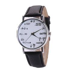 AAAAA Fashion 1PC Watches Women Mens Leather Stainless Steel Sport Quartz  Watch Women relogio masculino Reloj 4b8bf80101c7
