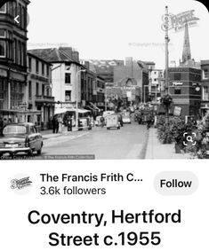 Coventry City, Street View, History, Places, Life, Historia, Lugares