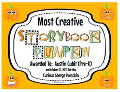 Start your own Storybook Pumpkin Patch tradition!