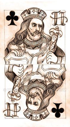 King of Clubs sketch by WillemXSM on DeviantArt