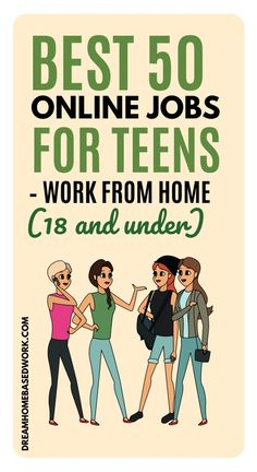 50 Easy Online Jobs for Teens: Work from Home (18 & Under)