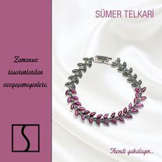 Zamansız tasarımlardan vazgeçemeyenlere... #jewelry #handmade #bracelet #gift #vintage #markazit #design #trendy