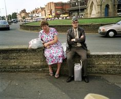 Bored Couples by Martin Parr. He's not into making people look good, but man can he frame the living f*** out of a shot.