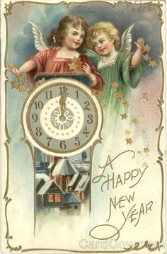 vintage new year - Google Search